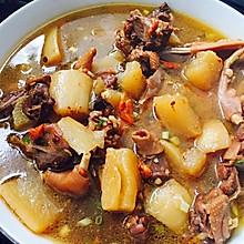 白萝卜鸭子汤