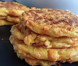 快手胡萝卜土豆早餐饼【GOURMETmaxx多功能厨师机版】的做法