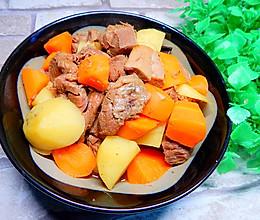 胡萝卜土豆炖牛肉的做法