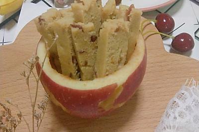 宝宝秋季腹泻就吃它!酸甜开胃补脑补铁的的12+苹果手指条
