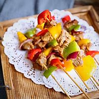多彩牛肉烤串