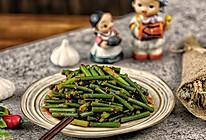 韩式家常菜:蒜苔原来还可以这么做,美味可口,下饭极品的做法