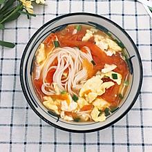 快手版美味汤面-番茄鸡蛋面
