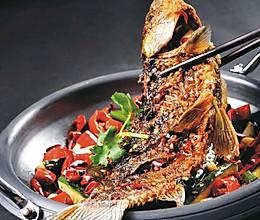 干锅鲫鱼的做法