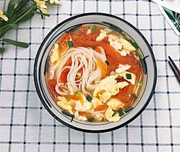 快手版美味汤面-番茄鸡蛋面的做法