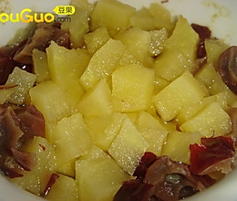 红枣苹果羹的做法