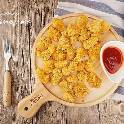 无油鸡米花,健康小零食