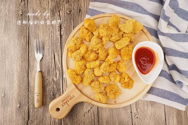 无油鸡米花,健康小零食的做法