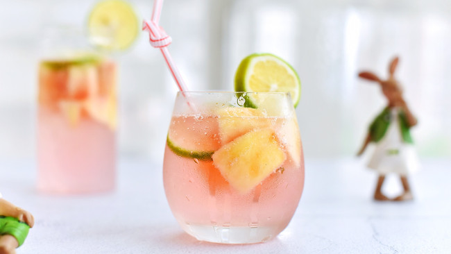 #夏日冰品不能少#蜜桃莫吉托的做法