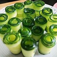 夏天还在吃拍黄瓜吗?有更高颜值好吃的【响油黄瓜】的做法图解3