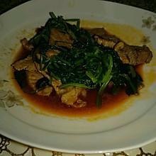 豌豆尖炒肉