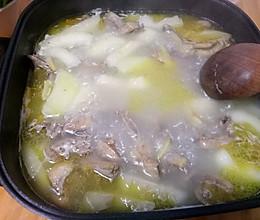 老鸭木瓜汤的做法