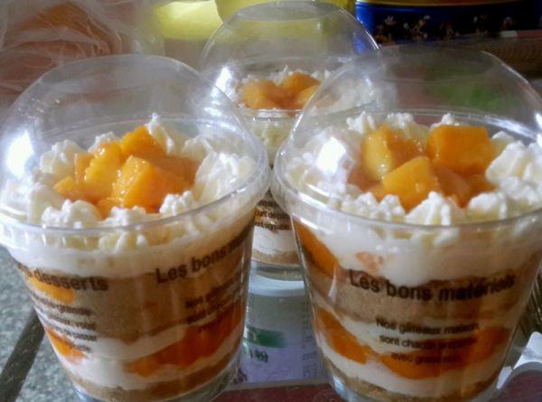 芒果木糠杯的做法
