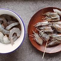 翡翠虾仁炒芦笋的做法图解2