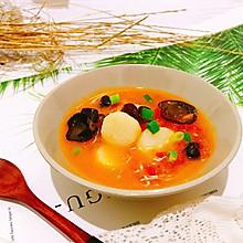#父親節,給老爸做道菜#番茄山藥木耳湯
