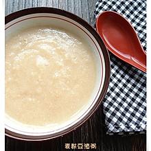 麦麸豆渣粥