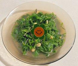 养生菜清炒观音菜素菜家常菜的做法