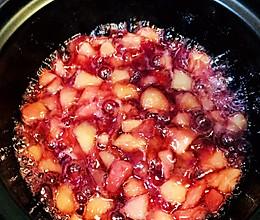 不加一滴水的蜜桃果馅的做法