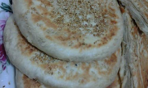 电饼铛版麻酱芝麻烧饼的做法