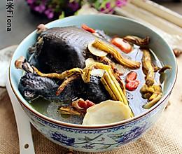 女人的汤--西洋参石斛乌鸡汤的做法