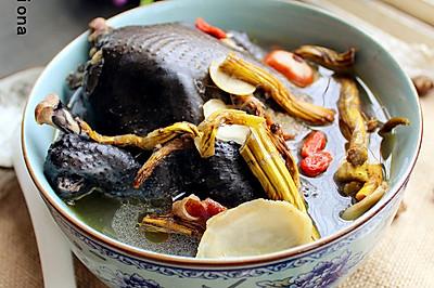 女人的汤--西洋参石斛乌鸡汤