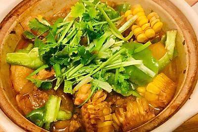 下饭神器,汤都不剩!能多吃两碗米饭的鸡公煲
