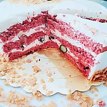 红丝绒酸奶慕斯蛋糕(八寸)