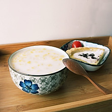椰奶燕麦粥 #急速早餐#