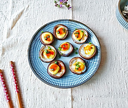 蚝汁鹌鹑蛋酿香菇的做法