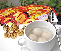 巧克力汤圆的做法