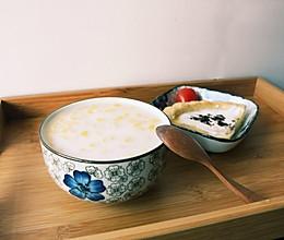 椰奶燕麦粥 #急速早餐#的做法