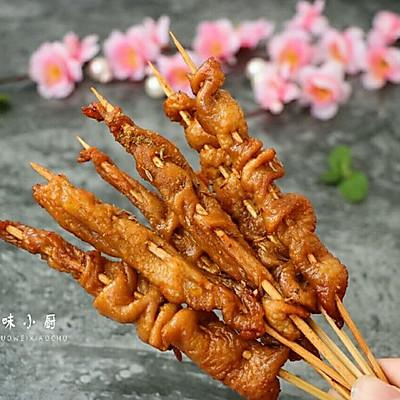 蒜香鸡皮(空气炸锅版)
