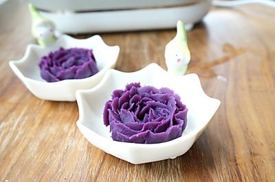 紫薯泥-喔喔牛辅食机