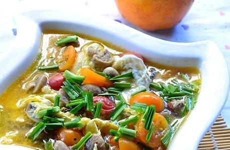 番茄蘑菇汤的做法