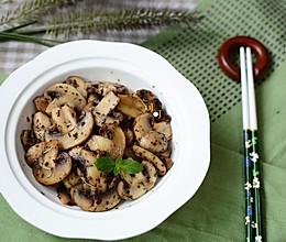 黑胡椒香草炒蘑菇的做法