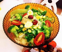 时蔬生菜沙拉的做法