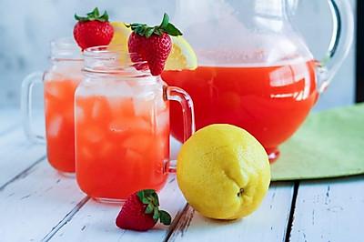 草莓柠檬水