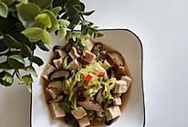 减脂餐之白菜炖冻豆腐的做法