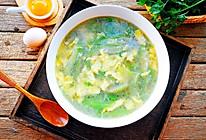 #父亲节,给老爸做道菜#丝瓜蛋花汤的做法
