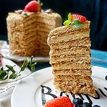 梅朵维克蛋糕—俄罗斯提拉米苏