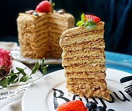 梅朵维克蛋糕—俄罗斯提拉米苏的做法
