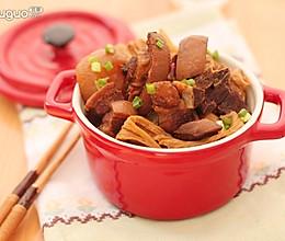 萝卜腐竹辣焖羊排的做法