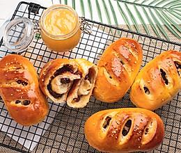 最适合自由发挥的烘焙,酸甜的果酱面包,开胃解馋,味道超赞的做法
