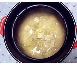 白菜炖豆腐汤的做法