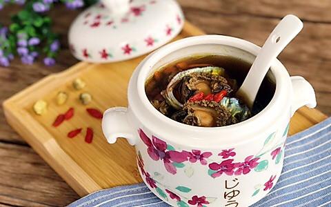 清肝明目 杞菊炖鲍鱼的做法