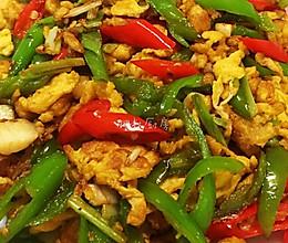 5分钟炒个能吃两碗饭的辣椒炒鸡蛋