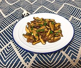 蚝油炒香菇的做法