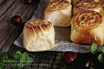 椰蓉面包卷(波兰种)