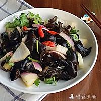 爽口洋葱拌木耳#金龙鱼外婆乡小榨菜籽油 最强家乡菜#