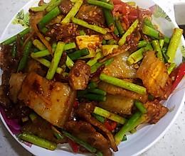 绝味蒜苔回锅肉的做法